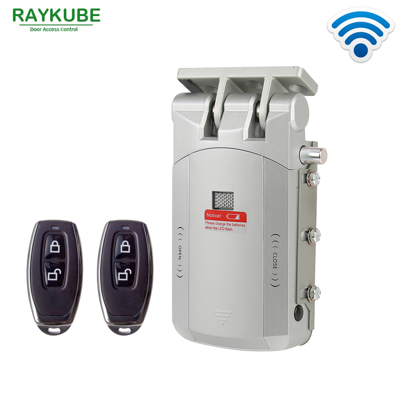Le Meilleur Raykube Electric Door Lock Wireless Control With Remote Ce Mois Ci