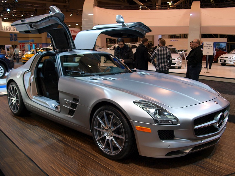 Le Meilleur Mercedes Benz Sls Amg With Gullwing Doors The Doors Of Ce Mois Ci