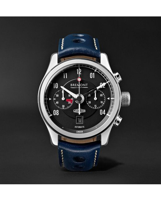 Le Meilleur Bremont Mkii Jaguar 43Mm Stainless Steel And Alligator Ce Mois Ci
