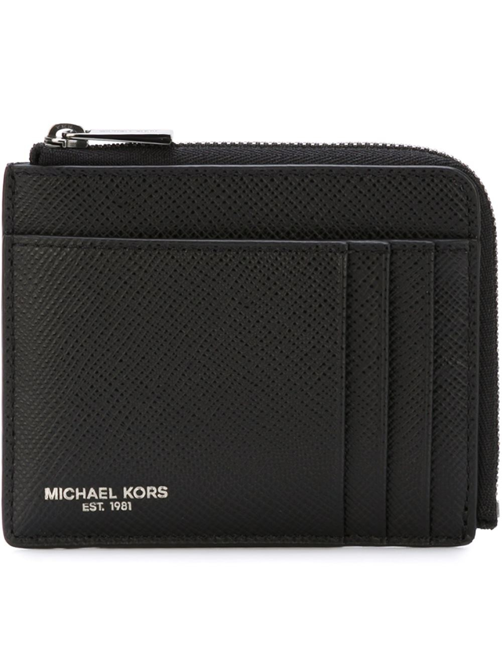 Le Meilleur Michael Kors Zip Around Wallet In Black For Men Lyst Ce Mois Ci