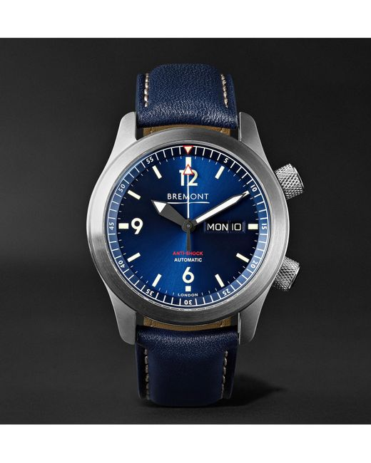Le Meilleur Bremont U2 Bl Automatic 45Mm Stainless Steel And Leather Ce Mois Ci