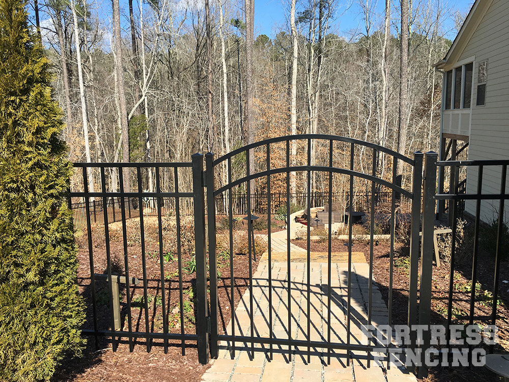 Le Meilleur Residential Entry Gates Fortress Fencing Ce Mois Ci