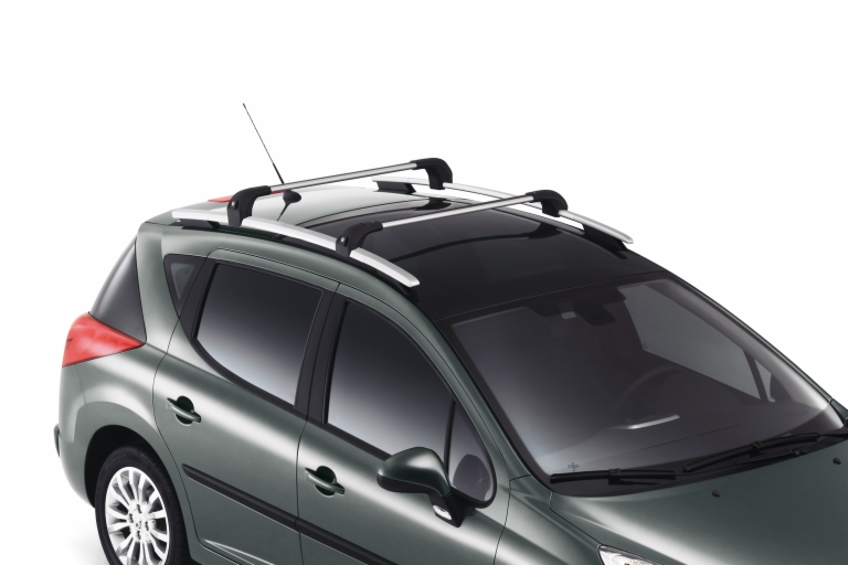 Le Meilleur Peugeot 207 Roof Rail Cross Bars Sw Sports Wagon Genuine Ce Mois Ci