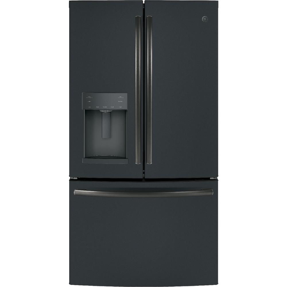 Le Meilleur Ge French Door Refrigerator Slate Home Depot Ce Mois Ci
