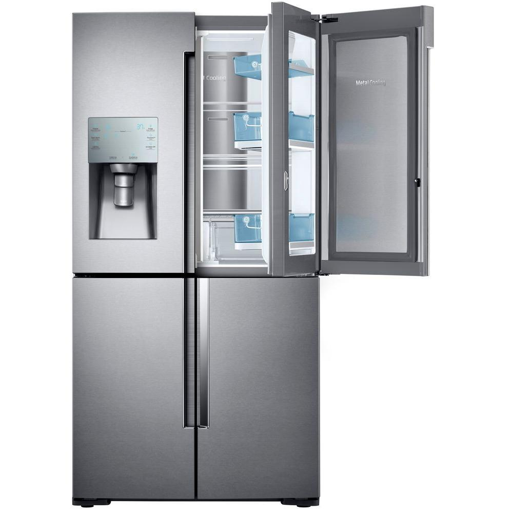 Le Meilleur Samsung 22 1 Cu Ft 4 Door Flex Food Showcase French Door Ce Mois Ci