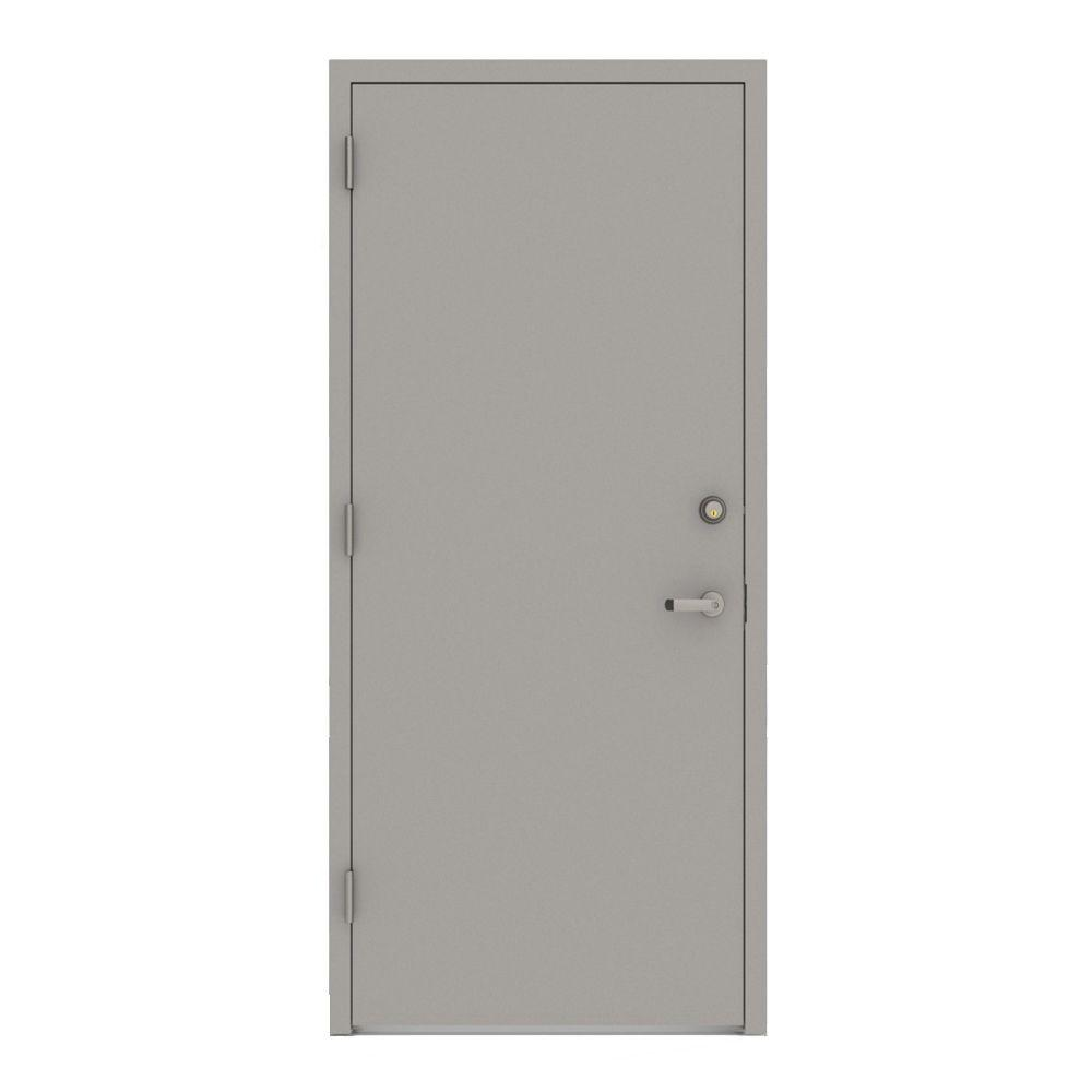 Le Meilleur L I F Industries 36 In X 80 In Gray Right Hand Flush Ce Mois Ci