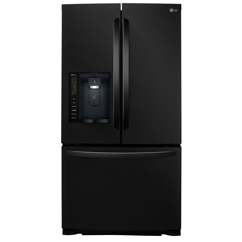 Le Meilleur Lg Electronics 24 1 Cu Ft French Door Refrigerator In Ce Mois Ci