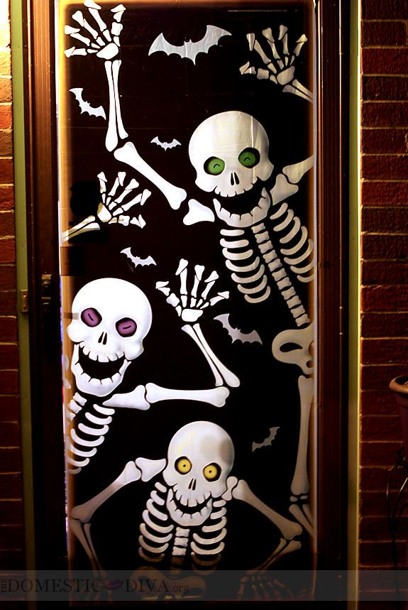 Le Meilleur 10 Ways To Decorate Your Door For Halloween Holiday Ce Mois Ci