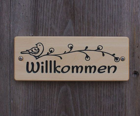 Le Meilleur Welcome Sign Willkommen Schild Welcome Sign In German Ce Mois Ci