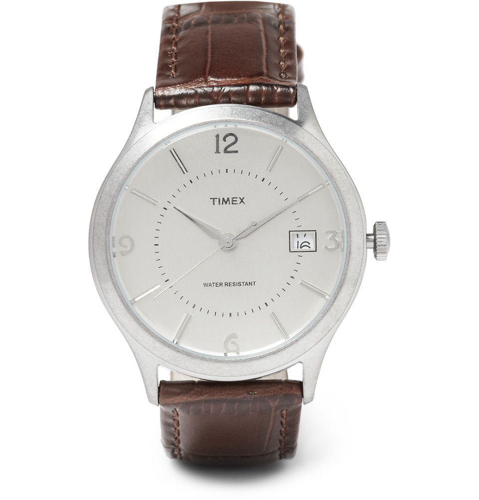 Le Meilleur Timex X J Crew Timex 1600 Stainless Steel Watch Mr Ce Mois Ci