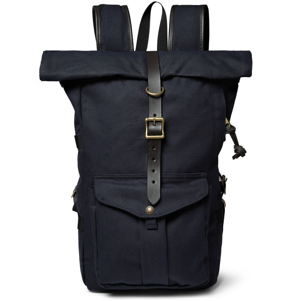 Le Meilleur Filson Leather Trimmed Twill Backpack Mr Porter Bags Ce Mois Ci