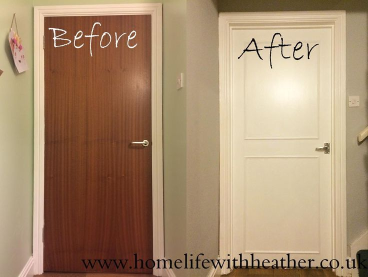 Le Meilleur How To Add Panels And Paint Hollow Core Internal Doors Ce Mois Ci