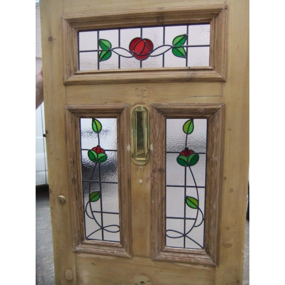 Le Meilleur Sd027 Victorian Edwardian 5 Panel Stained Glass Exterior Ce Mois Ci