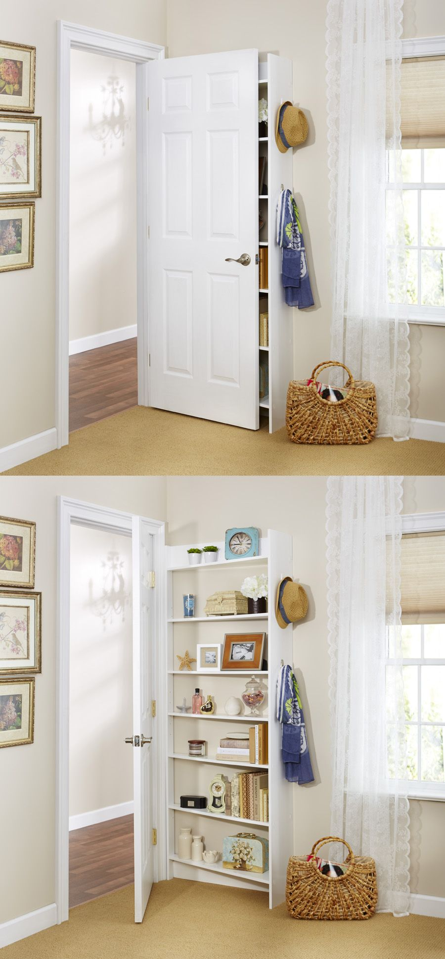 Le Meilleur Hide Behind The Door Shelving System By Foremost Because Ce Mois Ci
