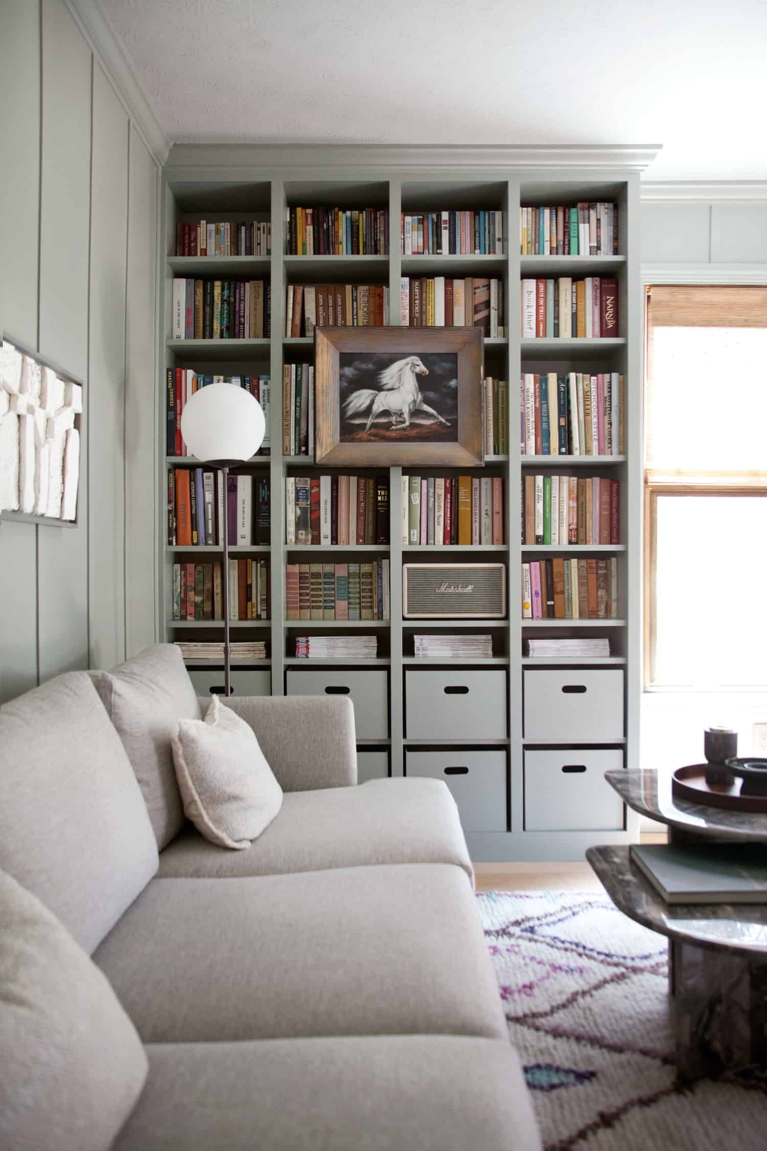 Le Meilleur Built In Ikea Billy Bookcase Hack Home Is Where The Ce Mois Ci