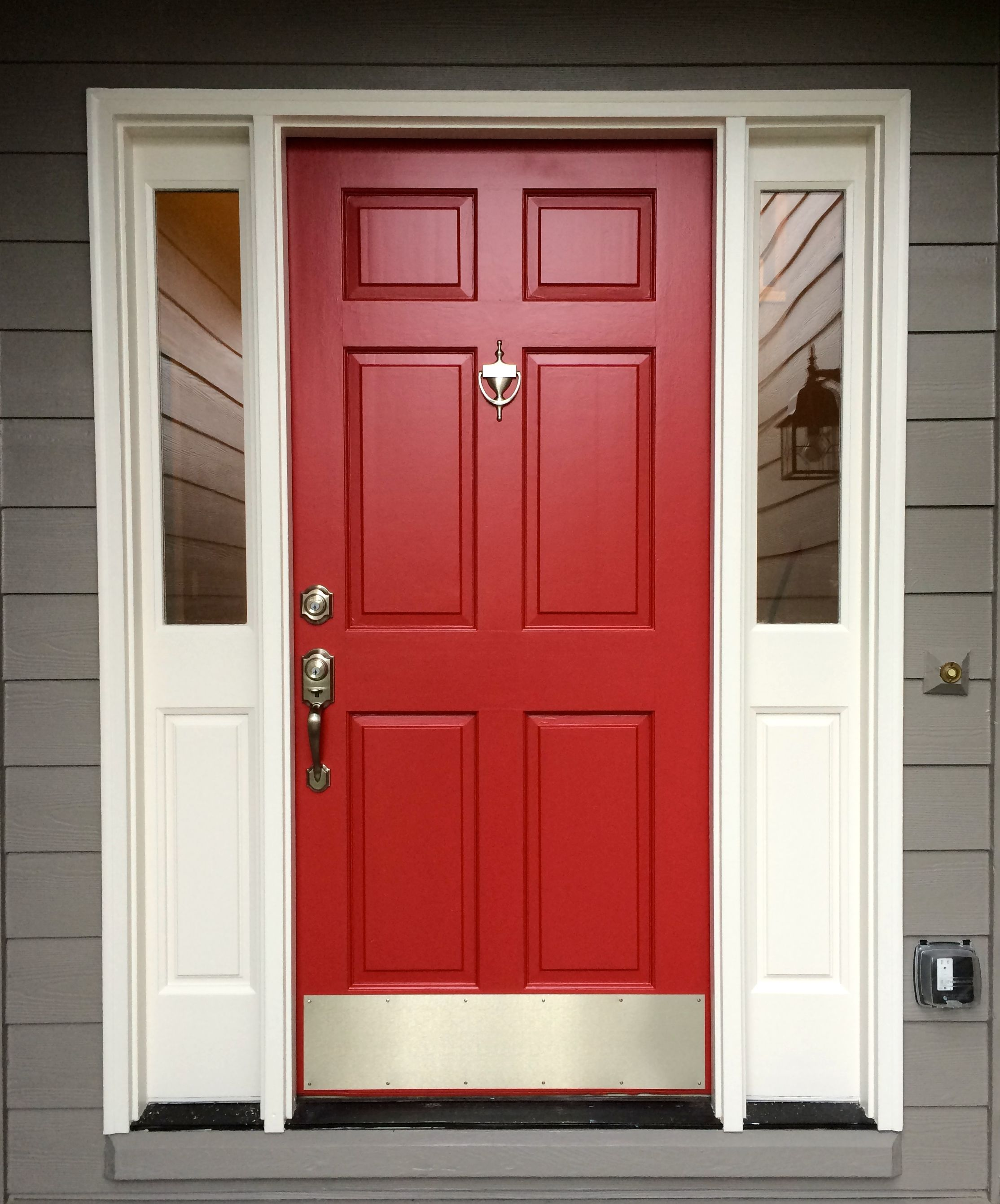 Le Meilleur Red Front Door Sherwin Williams Antique Red For The Ce Mois Ci