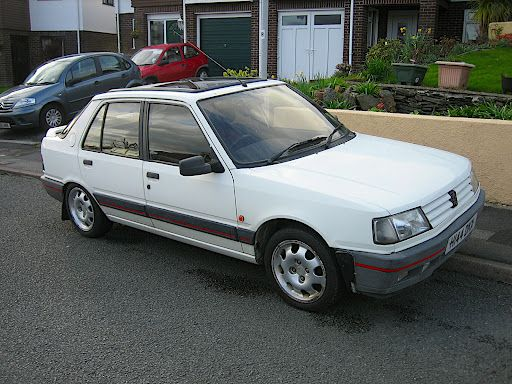 Le Meilleur Peugeot 309 Gti White 5 Door This Was My First Nice Ce Mois Ci