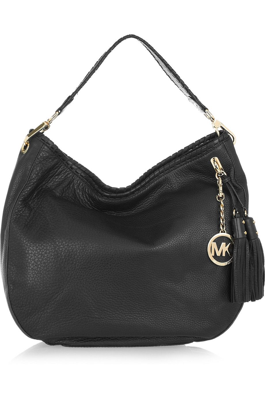 Le Meilleur Michael Michael Kors Bennet Textured Leather Shoulder Ce Mois Ci