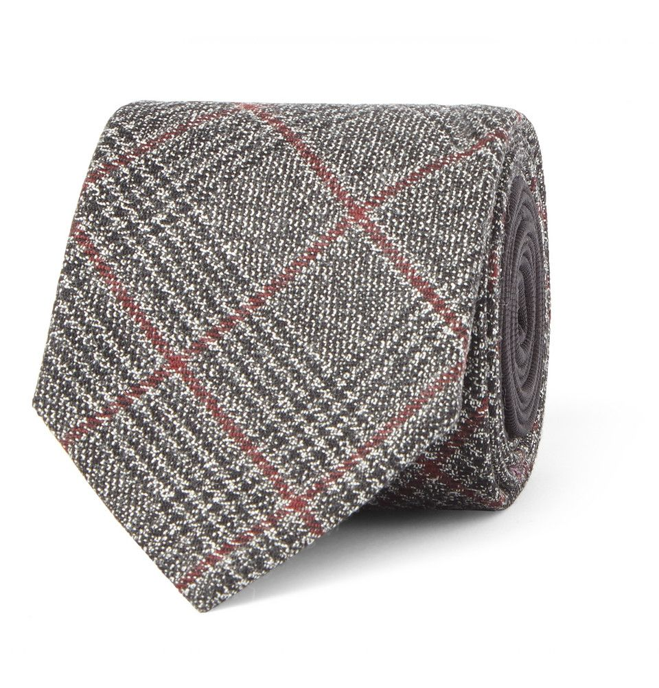 Le Meilleur Etro Check Wool And Silk Tie Mr Porter Ties Ce Mois Ci