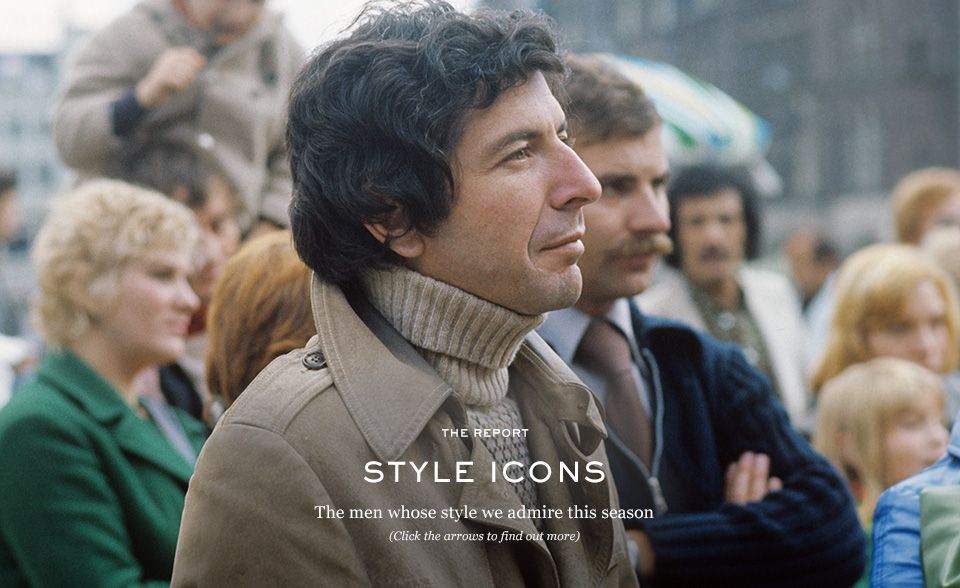Le Meilleur Style Icons The Report The Journal Mr Porter Ce Mois Ci