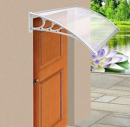 Le Meilleur Door Shelter Canopy Over Front Back Door Awning Rain Ce Mois Ci