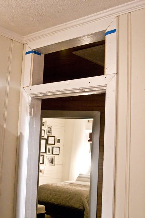 Le Meilleur How To Add A Transom Above An Existing Door Frame For Ce Mois Ci