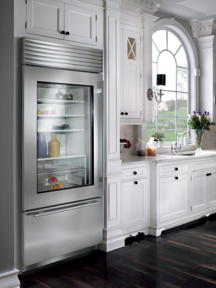 Le Meilleur Built In Sub Zero With See Through Door No More Opening Ce Mois Ci