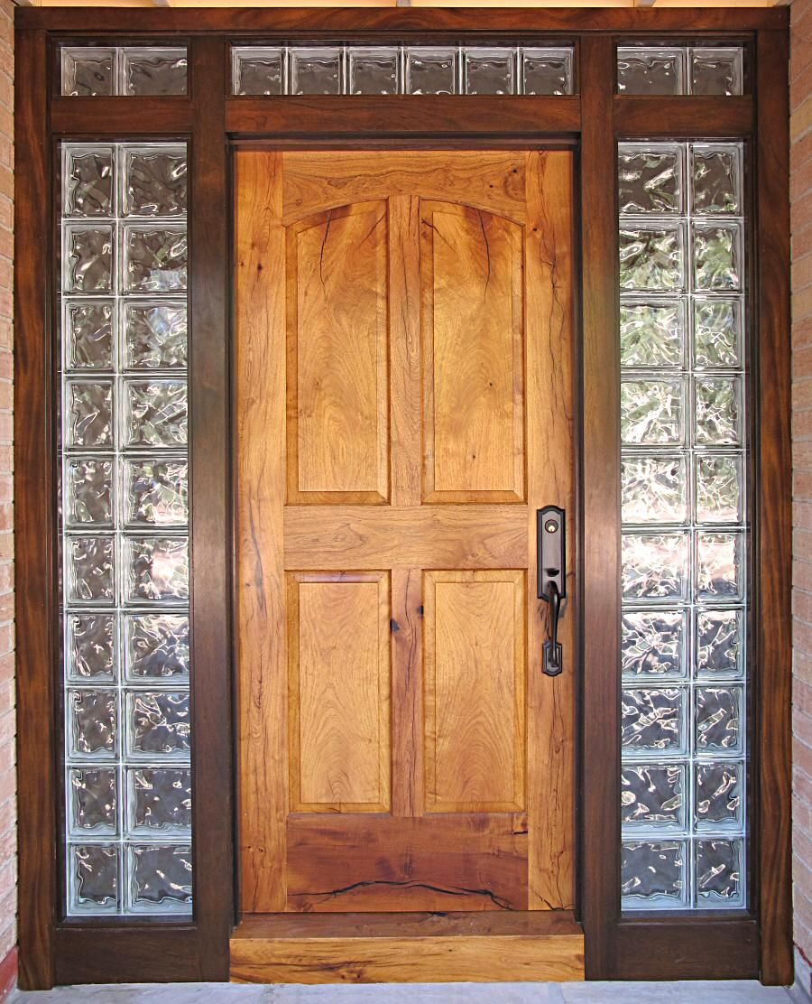 Le Meilleur Wood Door With Glass Block Windows I Have Always Loved Ce Mois Ci