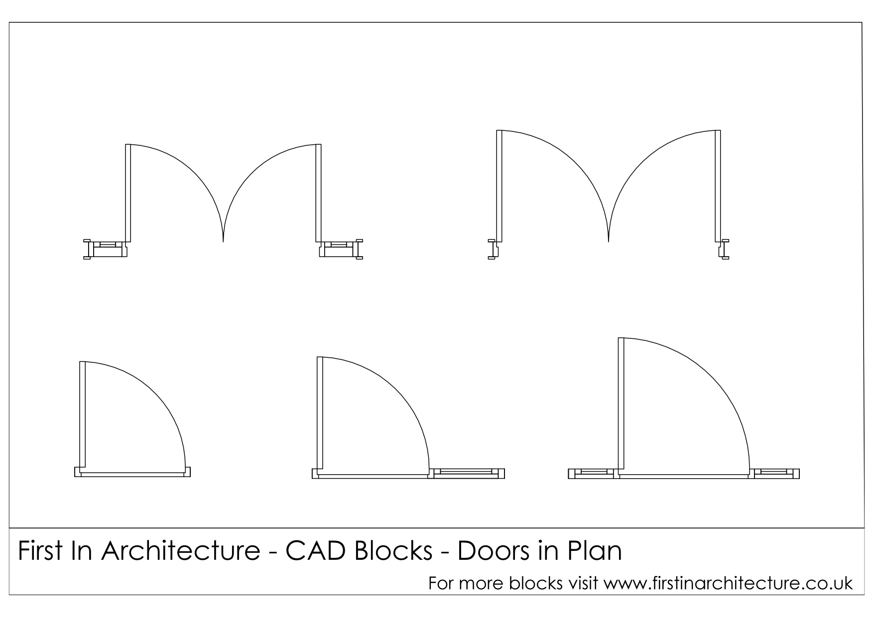 Le Meilleur Free Cad Blocks Door Elevationsplans Ce Mois Ci