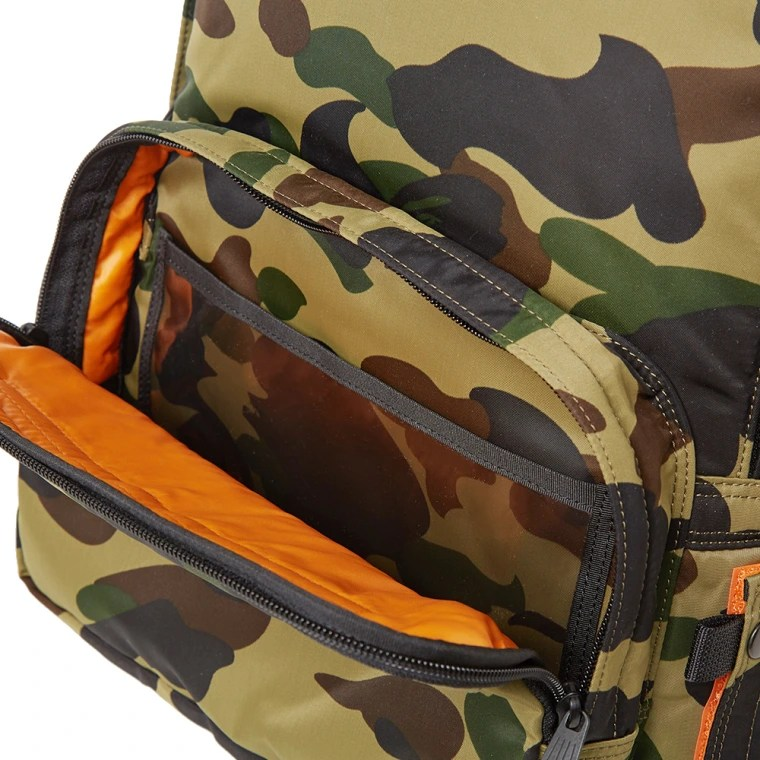 Le Meilleur A Bathing Ape X Porter 1St Camo Day Pack Green End Ce Mois Ci