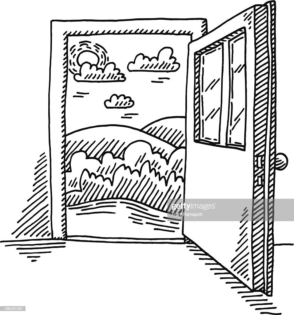 Le Meilleur Door Stock Illustrations And Cartoons Getty Images Ce Mois Ci