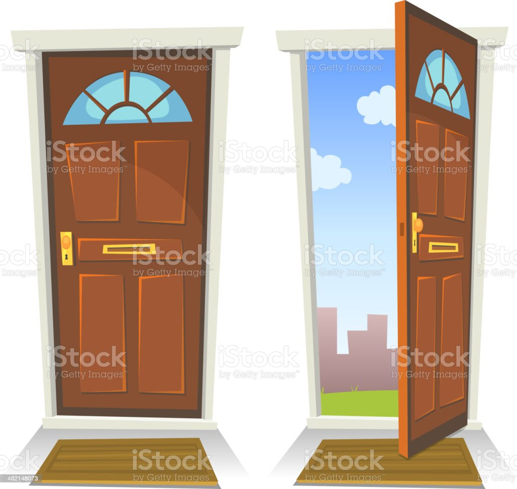 Le Meilleur Best Closing Door Illustrations Royalty Free Vector Ce Mois Ci
