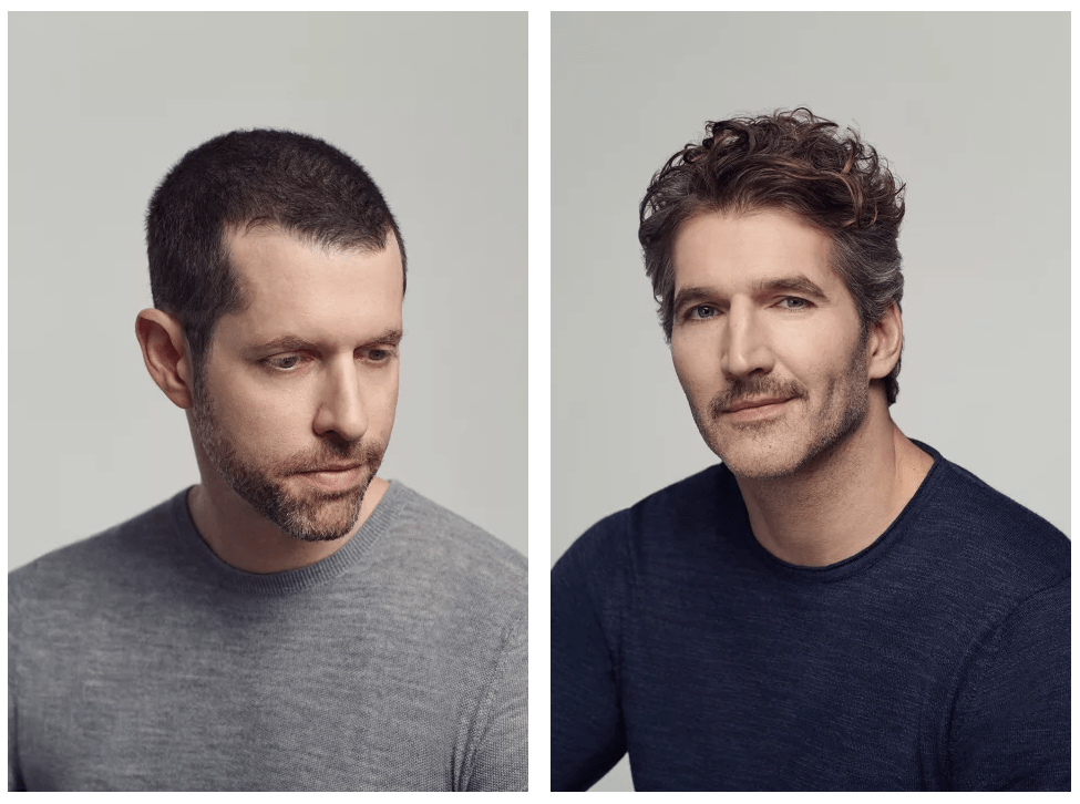 Le Meilleur Mr Porter David Benioff And Dan Weiss Yerinmok Ce Mois Ci