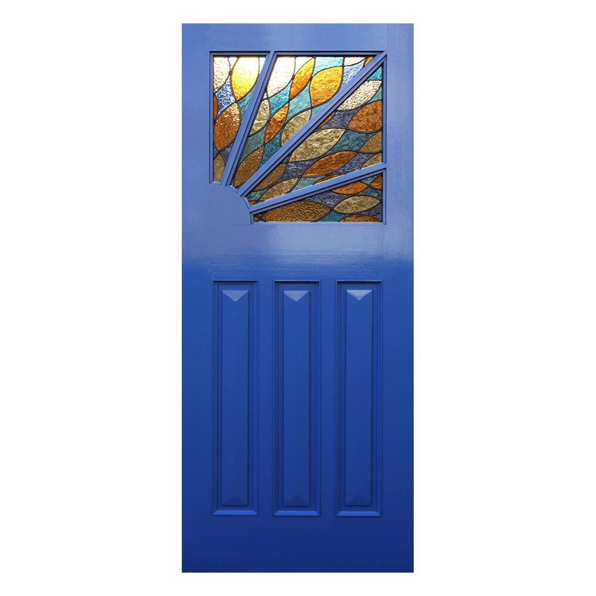 Le Meilleur Bespoke Sunburst Art Deco Door For Sale Hardwood Ce Mois Ci