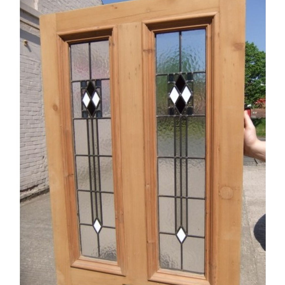Le Meilleur 4 Panel Art Deco Stained Glass Door Period Home Style Ce Mois Ci