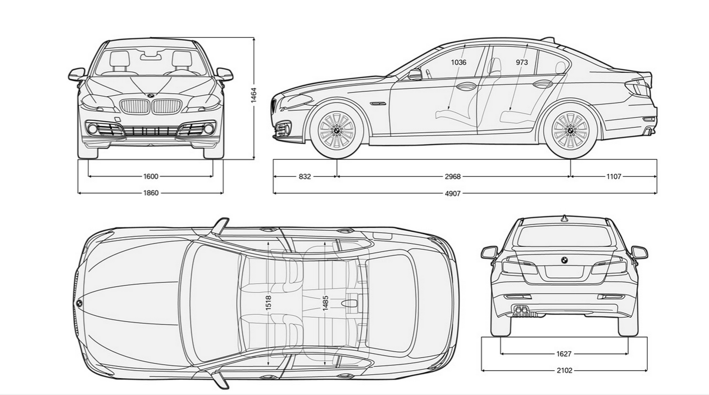 Le Meilleur Bmw 5 Series Sizes And Dimensions Guide Carwow Ce Mois Ci