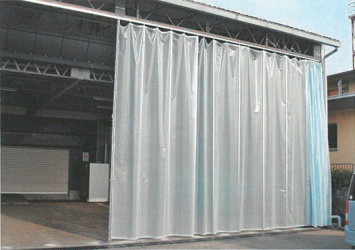 Le Meilleur Partition Curtain With Rail Made In Japan Used For Store Ce Mois Ci