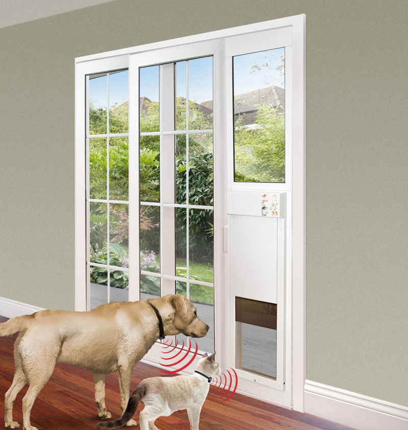 Le Meilleur Power Pet Electronic Pet Door For Sliding Glass Patio Doors Ce Mois Ci