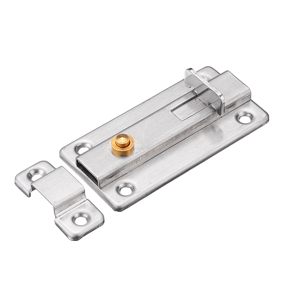 Le Meilleur Stainless Steel Automatic Spring Door Sliding Latch Lock Ce Mois Ci