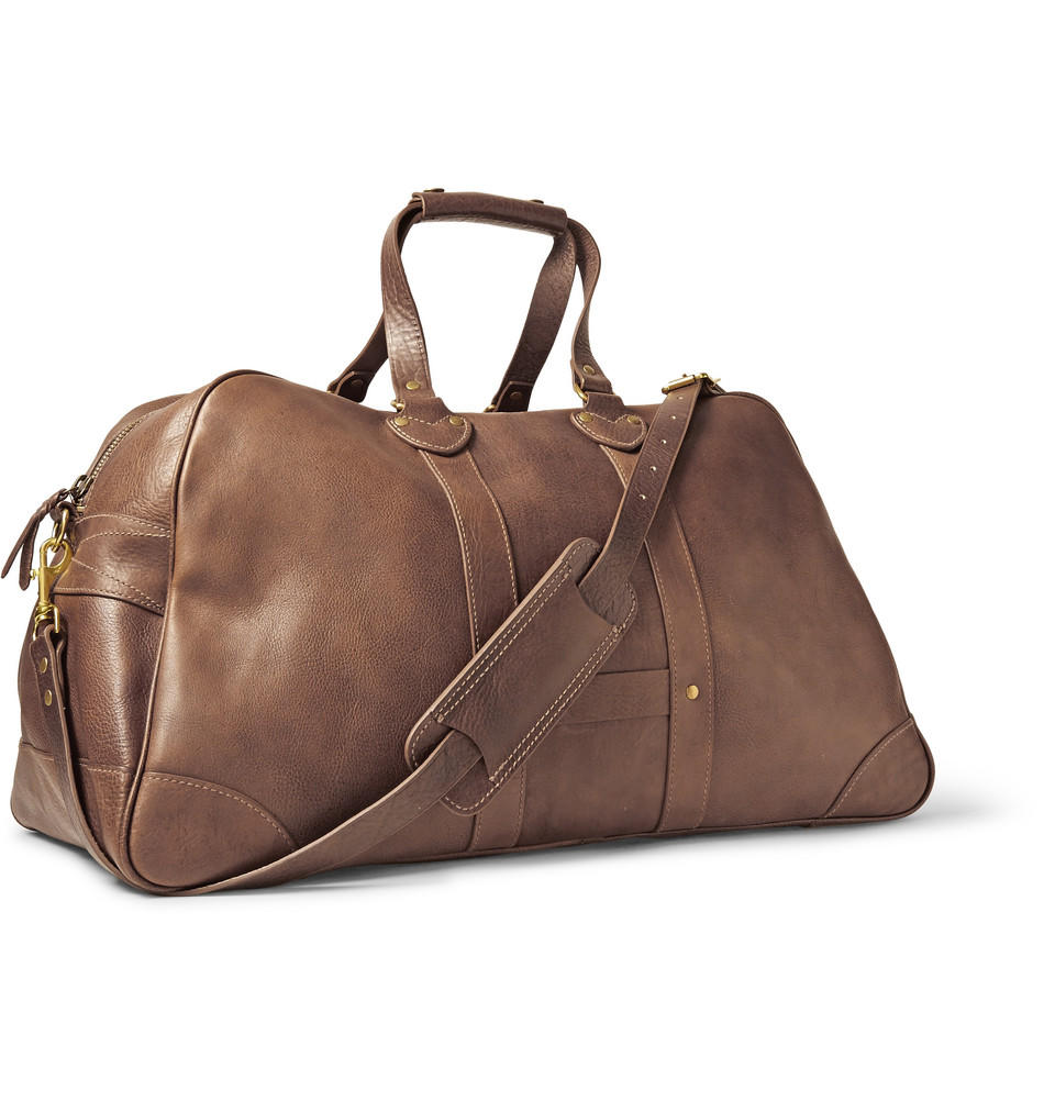Le Meilleur J Crew Montague Washed Leather Weekend From Mr Porter Bags Ce Mois Ci