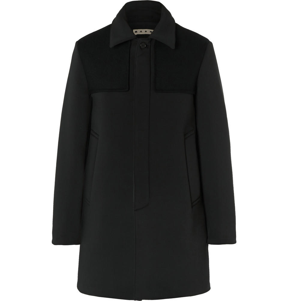 Le Meilleur Marni Slim Fit Felt Panelled Neoprene From Mr Porter Ce Mois Ci
