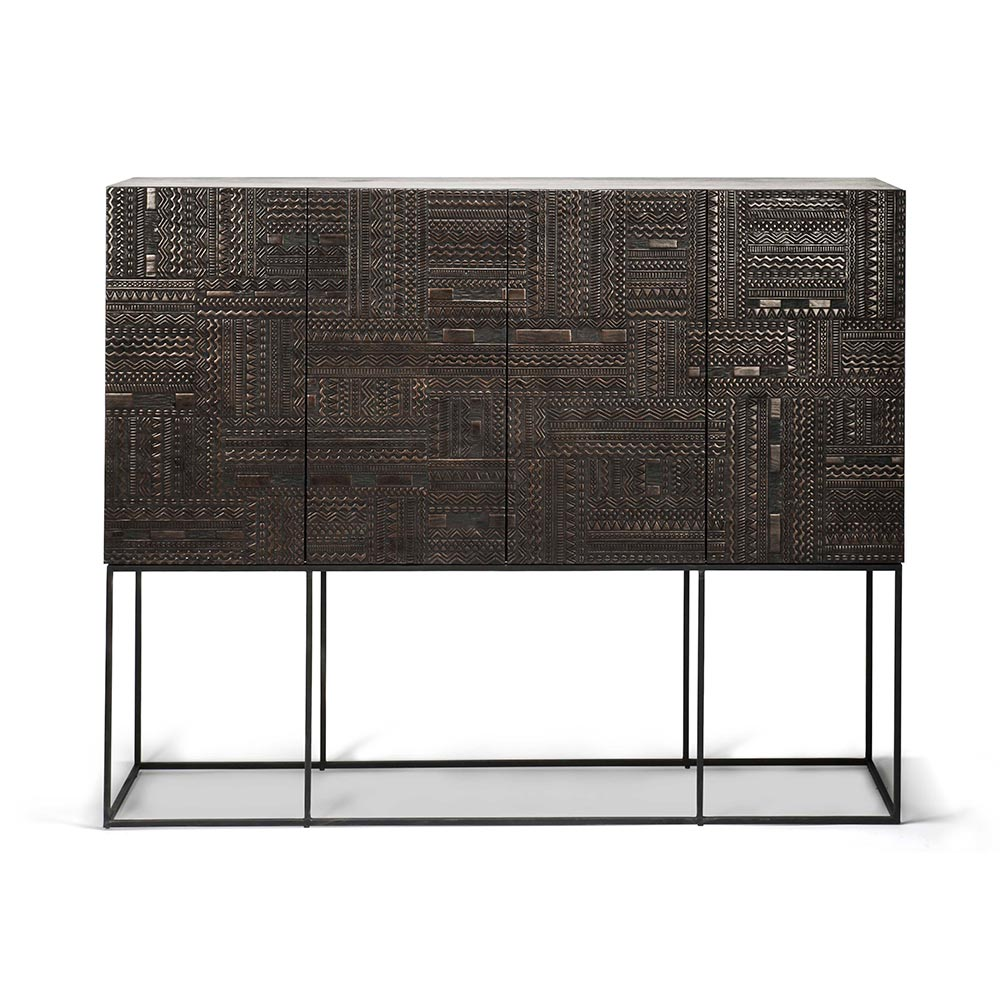 Le Meilleur Ancestors Tabwa Sideboard High – 4 Doors 4 Drawers Ce Mois Ci