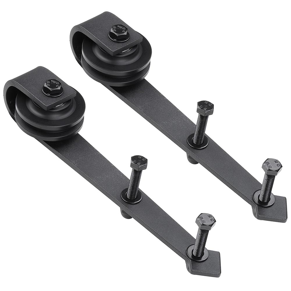 Le Meilleur 2X Steel Sliding Barn Rollers Replacement For Wood Door Ce Mois Ci