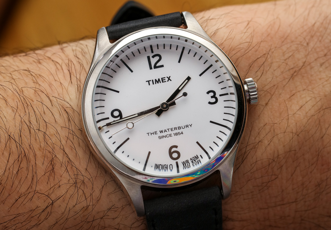 Le Meilleur Timex For Mr Porter Waterbury 792915 Watch Hands On Ce Mois Ci