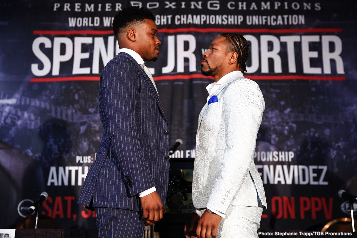 Le Meilleur Errol Spence Jr And Shawn Porter Press Conference Quotes Ce Mois Ci