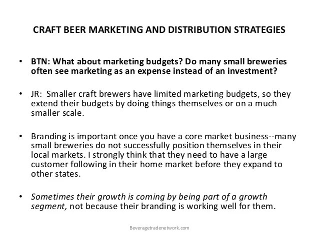 Le Meilleur Craft Beer Marketing And Distribution Strategy Ce Mois Ci