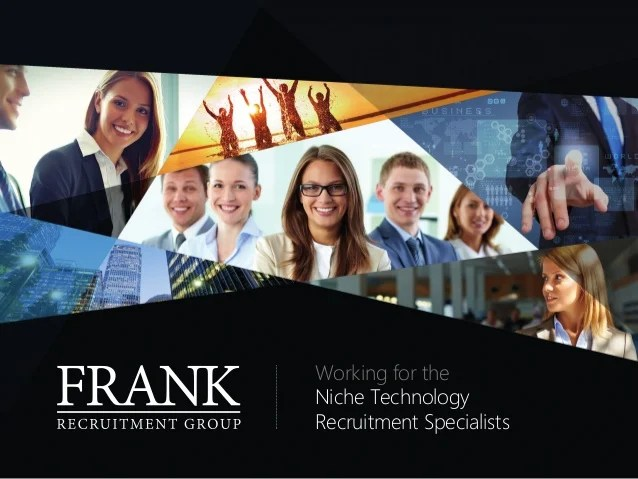 Le Meilleur Frank Recruitment Group A Career In Recruitment Ce Mois Ci