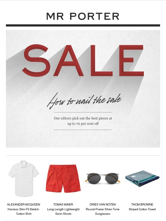 Le Meilleur Mr Porter Your Insider Sale Guide With Up To 70 Off Ce Mois Ci
