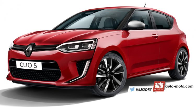 Le Meilleur 2018 Renault Clio Looks Sharper And Poised In New Renders Ce Mois Ci