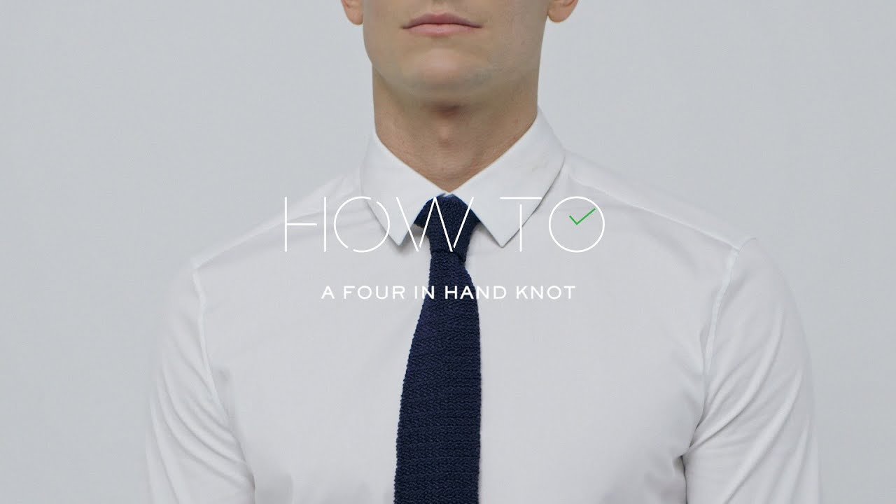 Le Meilleur How To Tie A Four In Hand Tie Knot Mr Porter Youtube Ce Mois Ci